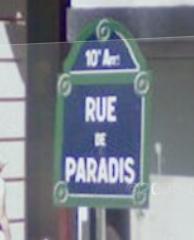 Rue the Rue (de Paradis)