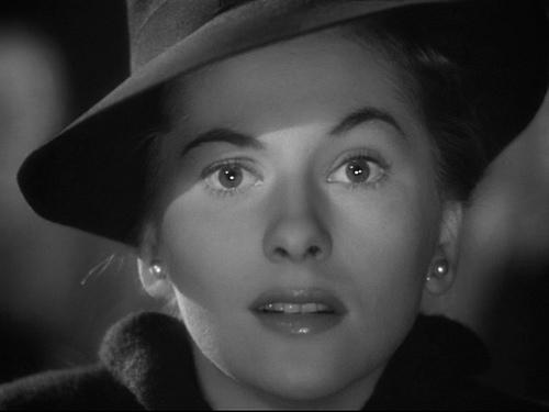 Joan Fontaine in Rebecca.