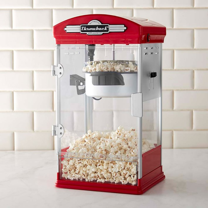 popcorn maker williamssonoma holiday shopping