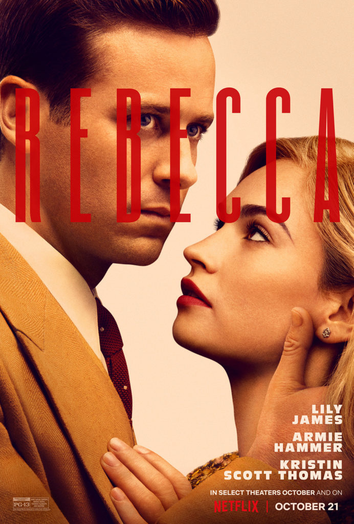 Rebecca 2020 Poster (Netflix)